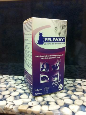 Feliway diffuseur avec flacon 48ml