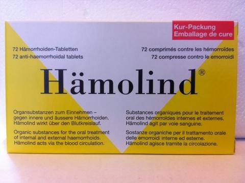 Hamolind 72 compresse