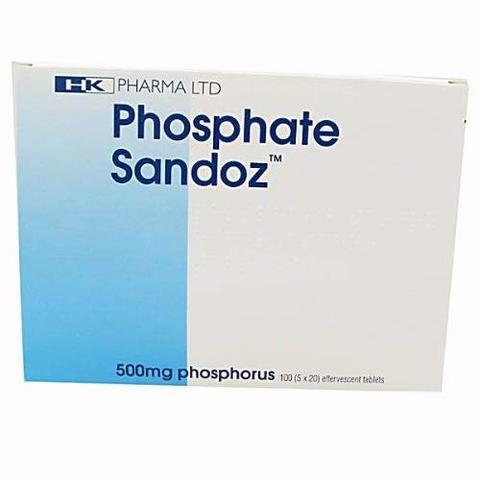 Phosphate Sandoz 500 Mg 100 Cpr
