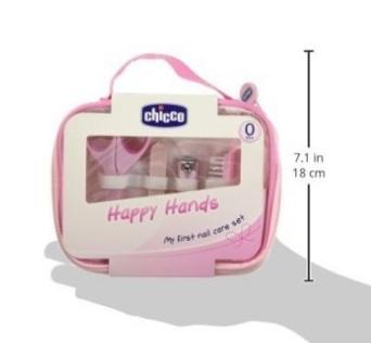 Set completo per curare l'igiene bambina