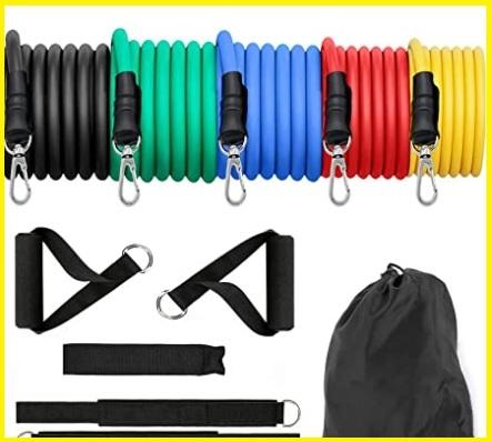Fasce elastiche bodybuilding set