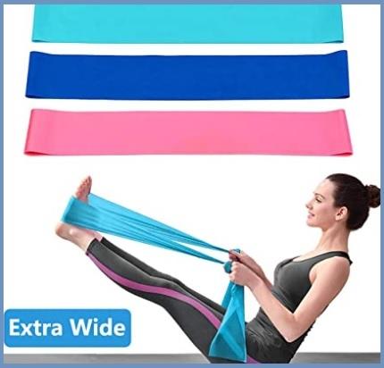 Fasce elastiche per esercizi fitness