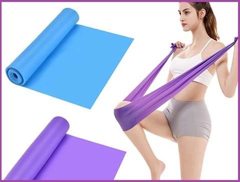 Fasce elastiche bodybuilding colorate