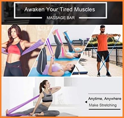 Fasce elastiche per esercizi braccia