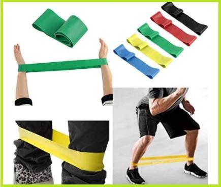 Fasce elastiche per ginnastica colorate