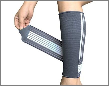 Fascia a compressione graduata gambale