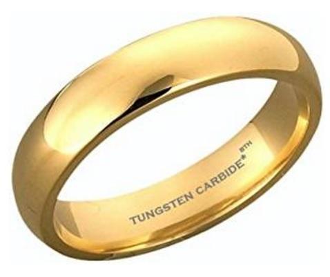 Fede nuziale per matrimonio o fidanzamento tungsten