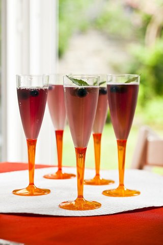 Confezione pz. 6 bicchiere flutes plastica cc.12 bbs