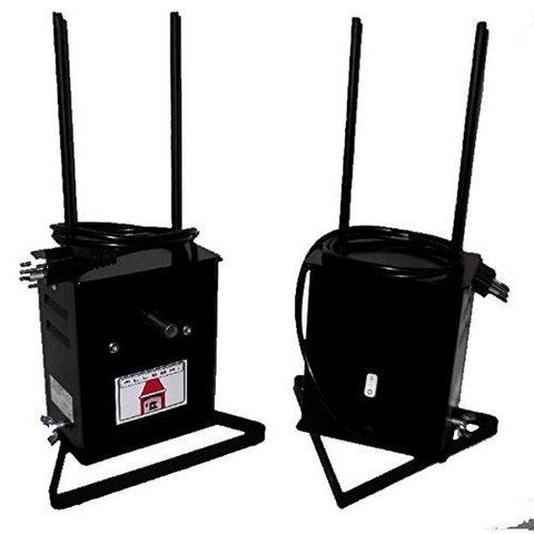 Girarrosto elettrico allegri 220 v portata 8 kg 21x19 h 38