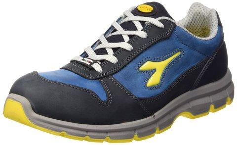Diadora scarpe antinfortunistica flash run textile blu n 43