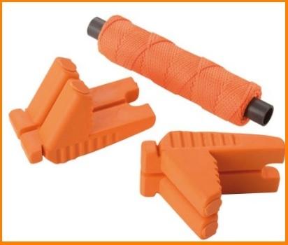 Filo arancione pratico per edilizia con fissaggio