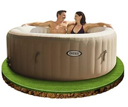Piscina gonfiabile spa therapy massaggiatore