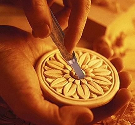 Set scalpelli per intaglio professionale