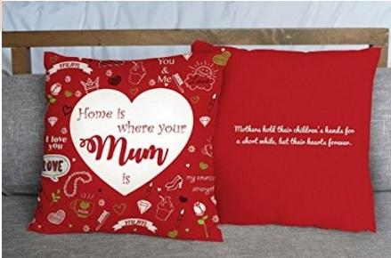 Festa della mamma cosa regalare cuscino morbido con frase