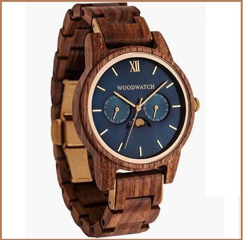 Orologi originali in legno per la festa del papà