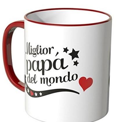 Tazza Per Il Miglior Papà Del Mondo Classica