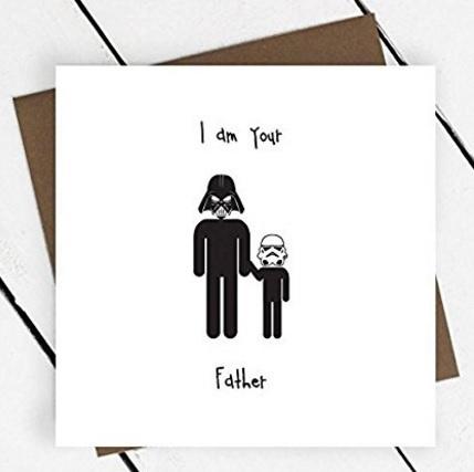 Biglietti Auguri Festa Del Papà Divertenti Star Wars