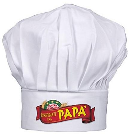 Regali creativi per la festa del papà cappello da cuoco