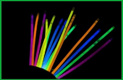 Braccialetti fluorescenti, per feste e discoteca