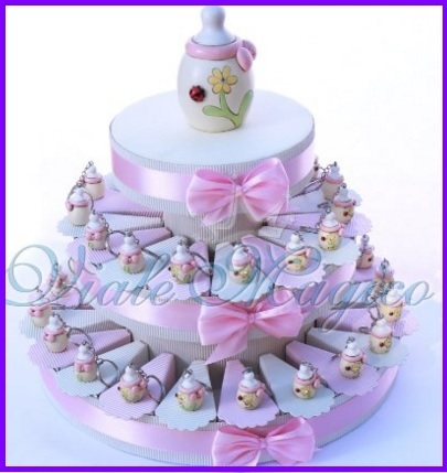Torta bomboniera per la nascita o battesimo