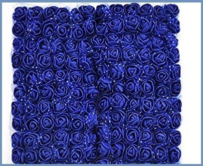 Fiori blu piccoli