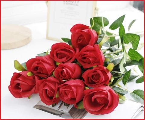 Fori bouquet artificiali rose