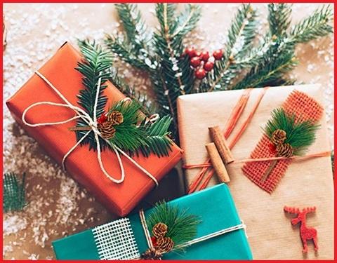 Composizione natalizia tavolo