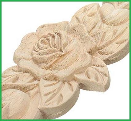 Fiori in legno decorativi