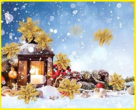 Fiori Oro Albero Di Natale