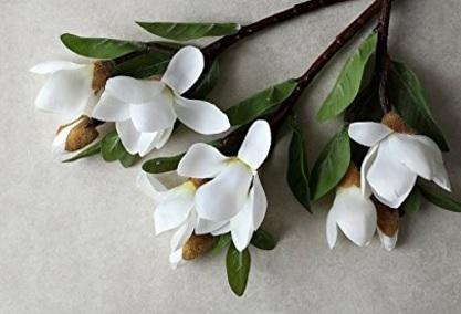 Fiori magnolie artificiali 5 teste