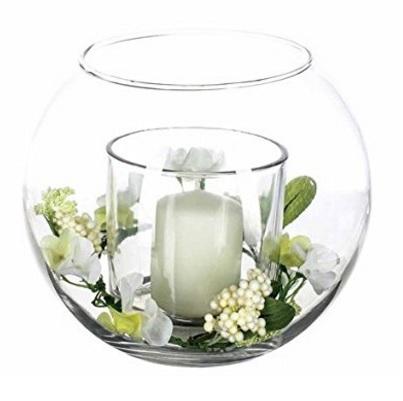 Composizione floreale artificiale bianca