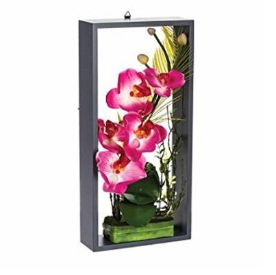 Fiori Artificiali Orchidea Su Telaio Dal Colore Rosa