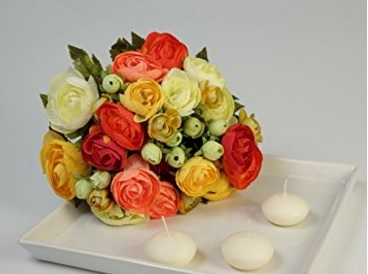 Bouquet completo e variopinto artificiale
