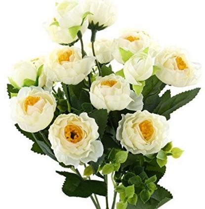 Composizione floreale ortensia artificiale