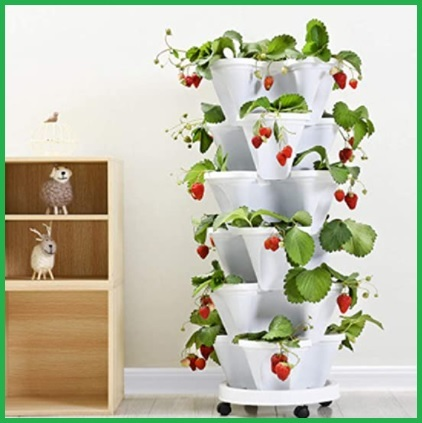 Fioriere verticali per piante aromatiche