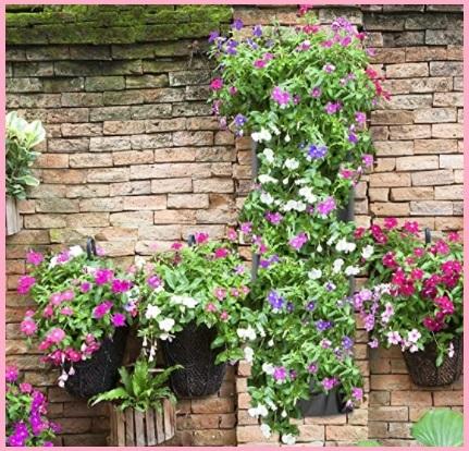 Fioriera verticale per balcone