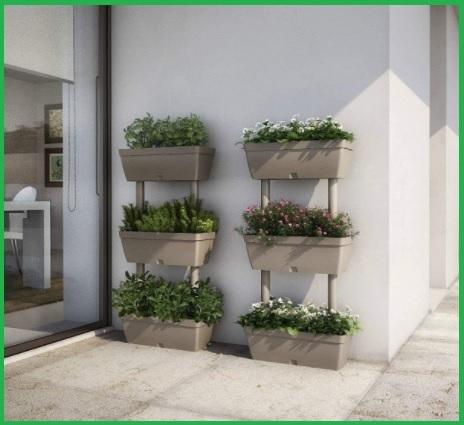 Idee per fioriere verticali