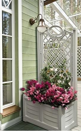 Fioriere da esterno in plastica grandi sconti fioriere da esterno legno plastica resina - Cassapanca plastica da esterno ...