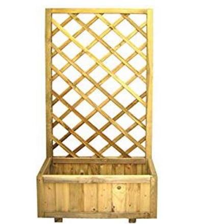 Fioriere da esterno in legno