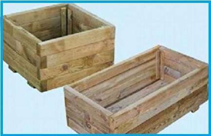 Fioriere in legno economiche