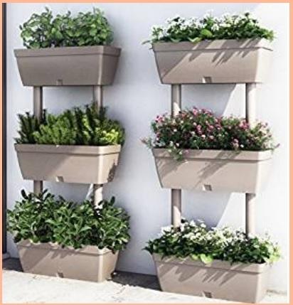Fioriere verticali da parete grandi sconti fioriere da - Vasi ikea esterno ...