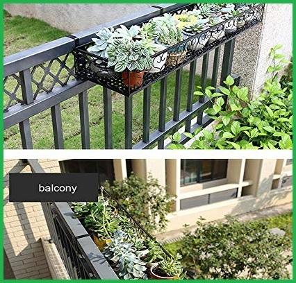 Fioriere da balcone in ferro battuto