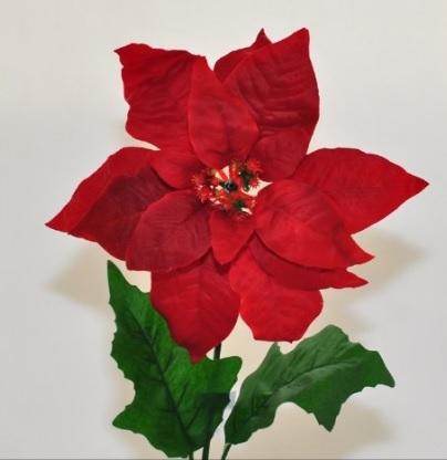 Stella Di Natale Finta Classica E Decorativa