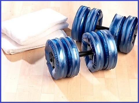 Dischi fitness riempibili