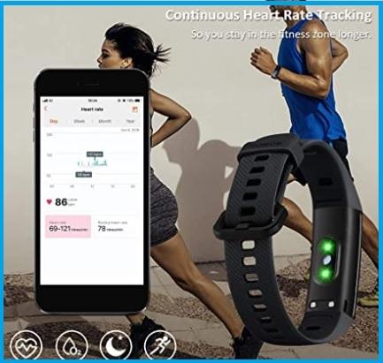 Fitness orologio donna