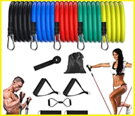 Fitness elastici con maniglie