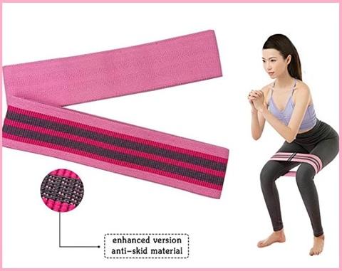 Fitness elastico glutei