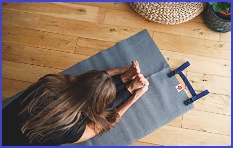 Tappetino yoga pieghevole da viaggio