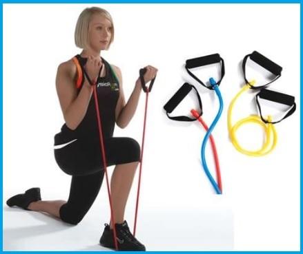 Fitness elastico maniglie