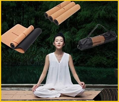 Tappetini Yoga Sughero